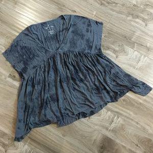❄️ 3/$25 AMERICAN EAGLE Tie Dye Soft & Sexy Top